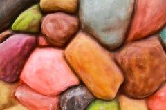 Stone brick wall Royalty Free Stock Images