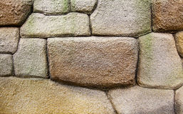 Stone brick wall Royalty Free Stock Images