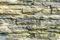 Stone brick wall background Royalty Free Stock Photo