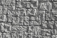 Stone brick wall background. And texture stock photo
