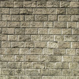 Stone brick wall with   cement  background Stock Photos