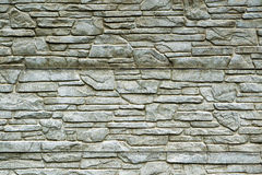 Stone brick wall detailed contrast texture Royalty Free Stock Photography