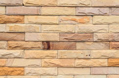 Stone brick wall. Stone brick for wall finishing Stock Photo
