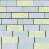 Stone brick wall illustration background, texture pattern Stock Photo