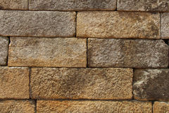 Stone brick wall korean stlye texture Stock Photo
