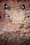 Stone and brick wall Stock Image