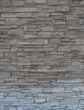 Stone brick wall, Modern brick stone wall. Background royalty free stock photos
