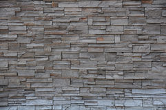 Stone brick wall, Modern brick stone wall. Background royalty free stock image