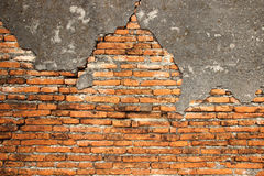 Stone brick wall. Old brick Royalty Free Stock Images