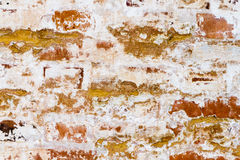 Stone brick wall of the old building, background texture. Royalty Free Stock Image