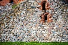 Stone and brick wall Royalty Free Stock Photos
