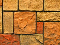 Stone Brick Wall Pattern 7 Stock Photos