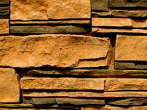 Stone Brick Wall Pattern 8 Stock Images