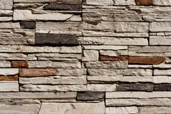 Stone Brick wall seamless background - texture pattern for continuous replicate. Stone Brick wall seamless background - texture pattern for continuous replicate royalty free stock photos