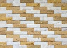 Stone brick wall texture Stock Image