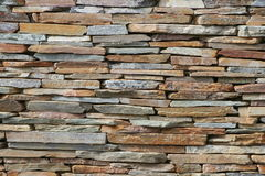 Stone brick wall texture, for background Royalty Free Stock Photo