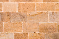 Stone and brick wall. Texture or barckground Stock Photography