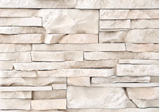 Stone brick wall texture material Stock Photos
