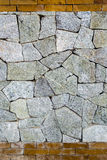 Stone and brick wall texture Royalty Free Stock Image