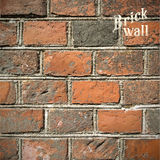 Stone Brick wall Vector illustration background - Stock Image
