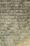 Stone brick wall with  weathered cement Stock Images