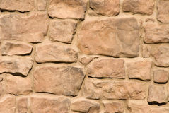 Stone brick work Royalty Free Stock Image