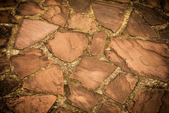 Stone Bricks Ground Texture Stock Photography