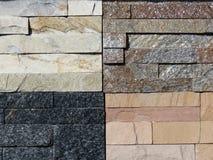 Stone bricks pattern Royalty Free Stock Image