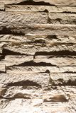 Stone bricks on the wall as a background.  Royalty Free Stock Photo