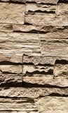Stone bricks on the wall as a background.  Stock Photography