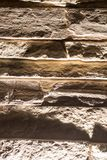 Stone bricks on the wall as a background.  Royalty Free Stock Photos