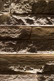 Stone bricks on the wall as a background.  Royalty Free Stock Photography