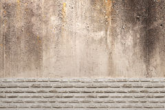 Stone and bricks wall Royalty Free Stock Images