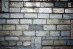 Stone bricks wall pattern texture Stock Images