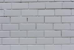 White painted horizontal stone bricks wall pattern texture background close-up shot stock photos
