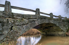 Stone-bridge Royalty Free Stock Photos