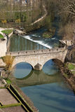 Stone bridge. Dating from the dark ages, Luxembourg Royalty Free Stock Images