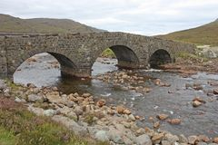 Stone Bridge. Royalty Free Stock Photos