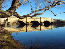 Stone Bridge royalty free stock images