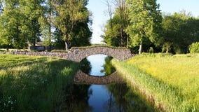 Free Stone Bridge Royalty Free Stock Image - 55031156