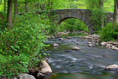 Stone Bridge. Over Pocantico River in New York State Stock Images