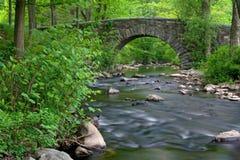 Stone Bridge. Over Pocantico River in New York State stock images