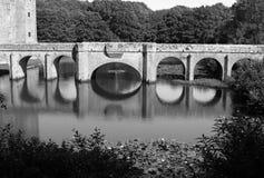 Stone bridge stock photography