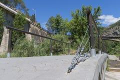 Stone bridge. Royalty Free Stock Image