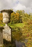 Stone Bridge in the Autumn Park.Pavlovsk,St.Peterb Royalty Free Stock Photos
