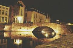Stone bridge. In brugge Royalty Free Stock Photo