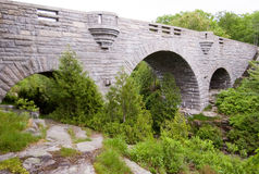 Stone bridge in countryside Royalty Free Stock Photography