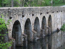 Stone Bridge/Dam, royalty free stock images