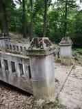 Stone bridge. Detail of Maria Radna Franciscan Monastery - Romania Royalty Free Stock Image