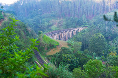 Stone bridge in Ella Stock Images